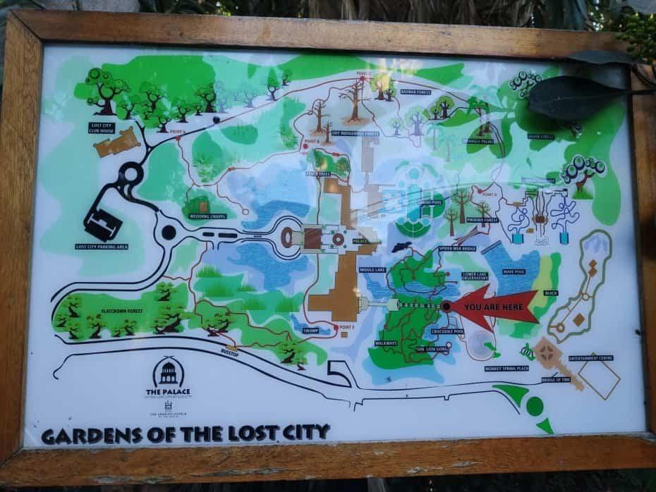 Mapa, Sun City