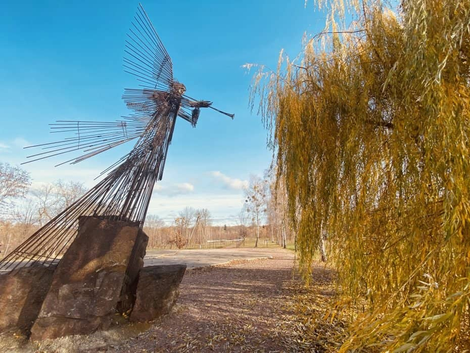 Anjo do Apocalipse, Chernobyl, zona de exclusão