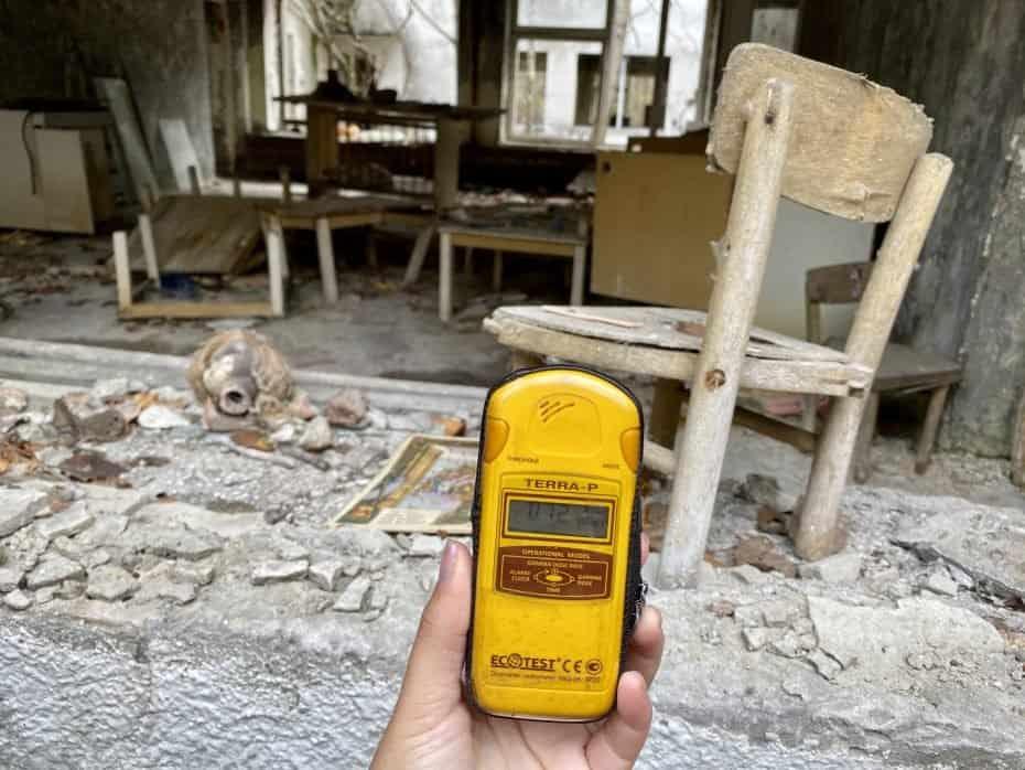 Aparelho de medir radiação