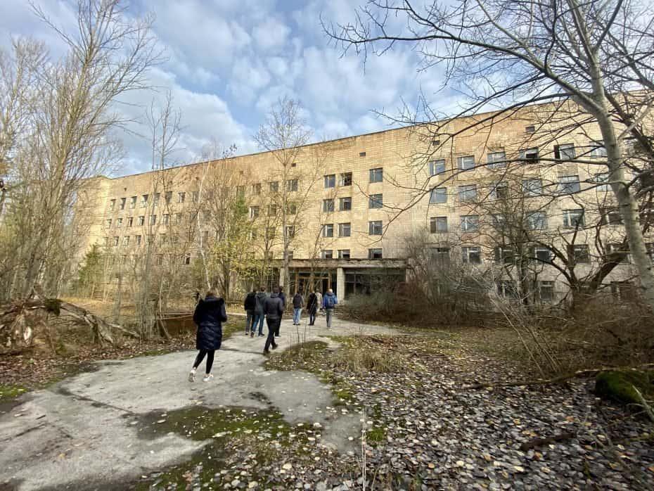 hospital de Pripyat hoje