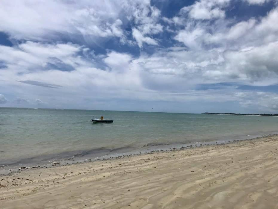 Praia de Santo André Bahia