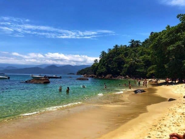 Ilha das Couves Praia de Terra