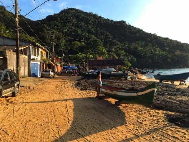 Vila de Picinguaba Ilha das Couves