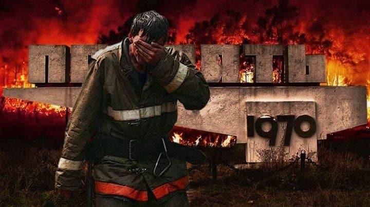 Fogo em Chernobyl