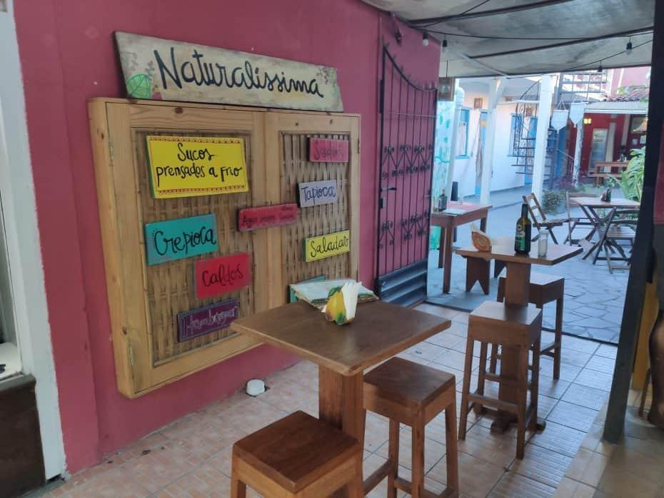Restaurante vegano, vegetariano em Arraial