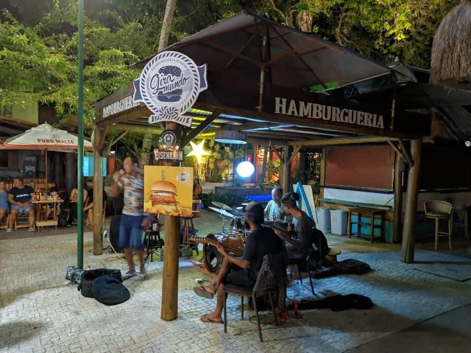 Gira Mundo, Onde comer hamburguer em Arraial d'Ajuda Bahia