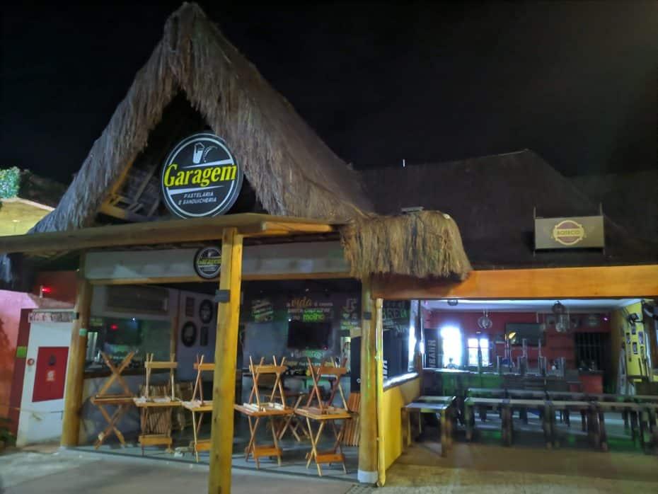 Garagem, hamburgueria em Arraial