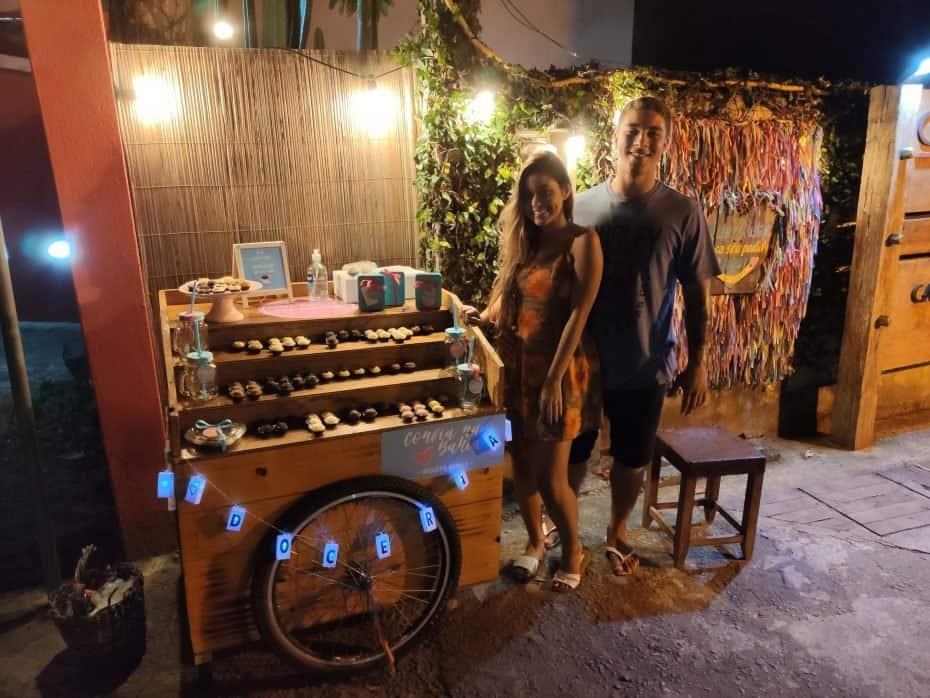 Doceria artesanal em Arraial d'Ajuda Bahia
