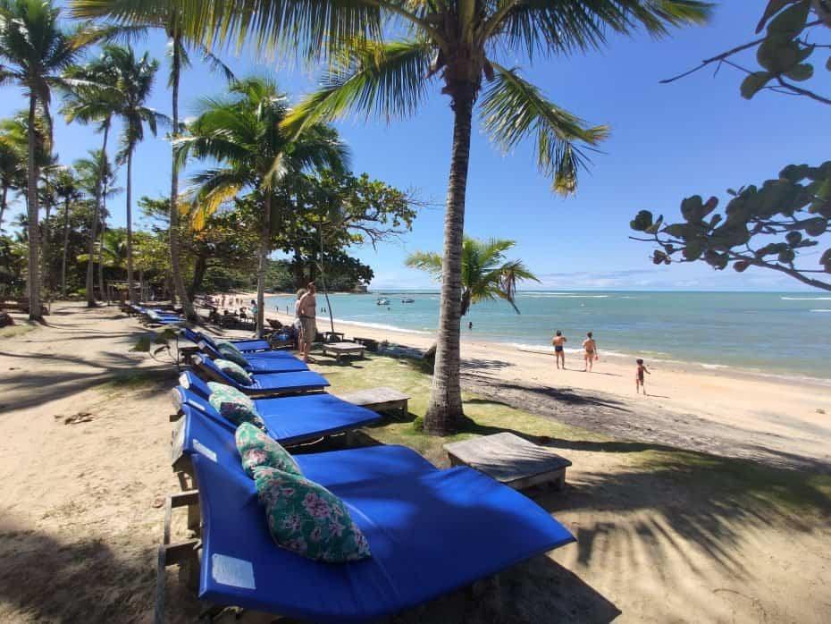 Praias do litoral da Bahia
