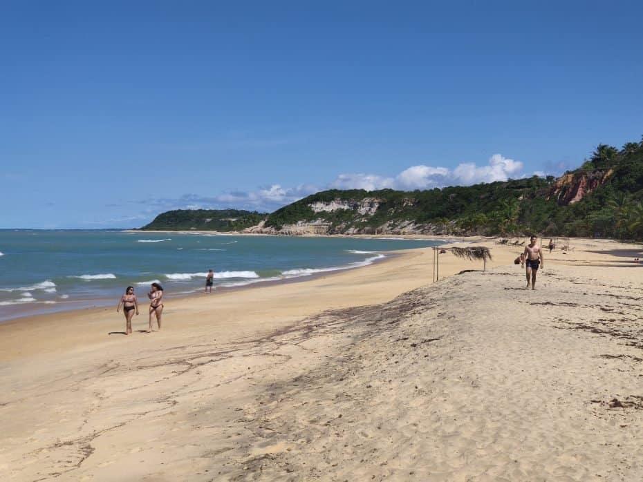 Praia Pontal do Curuípe, Praia do Espelho