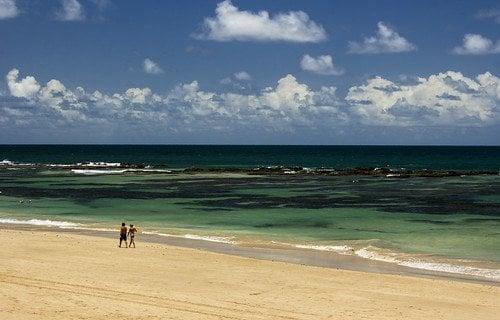 praias de Porto de Galinhas - praia do cupe