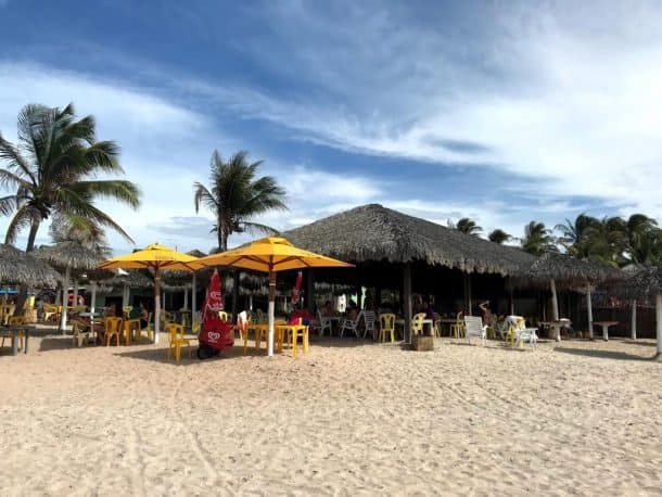 Onde comer na Praia do Coqueiro