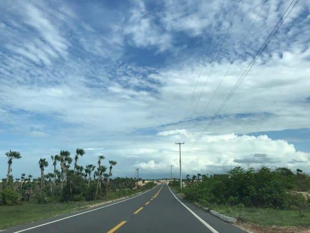 Estrada para Parnaíba