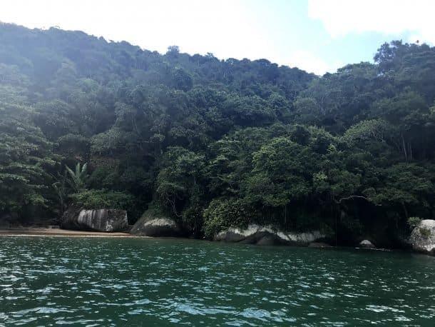 Praia da Fome em Ilha Bela