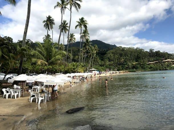 Melhores praias de Ilha Bela Praia da Pedra do Sino