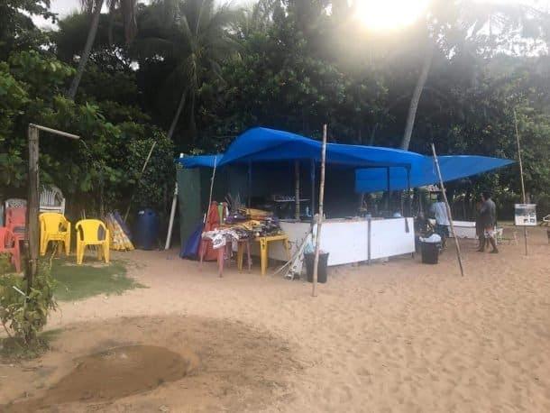 Praia do Jabaquara Ilha Bela onde comer.