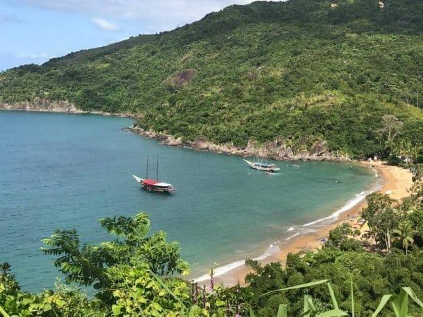 Praia do Jabaquara Ilha bela dicas