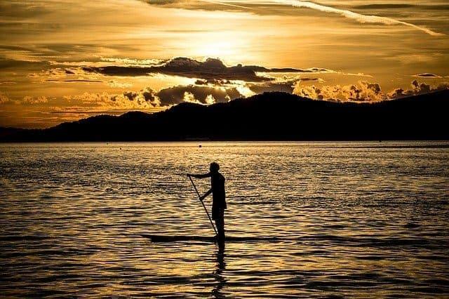 Praia do Pereque Ilhabela - stand up paddle ilha bela