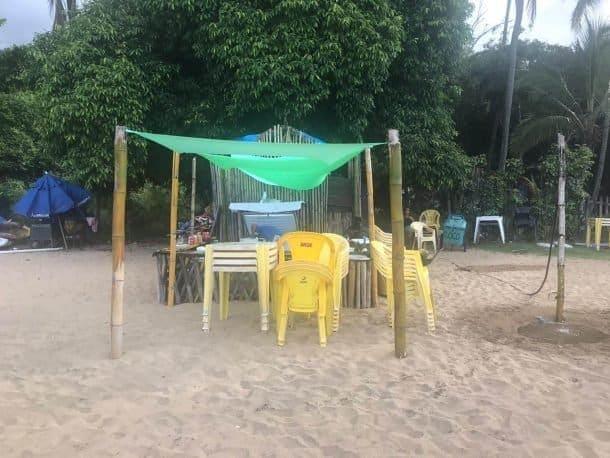 Praia do Jabaquara Ilha Bela onde comer