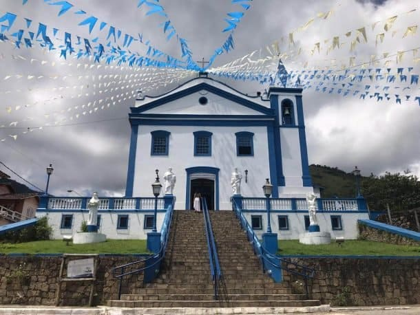 Ilha Bela centro histórico da ilha.