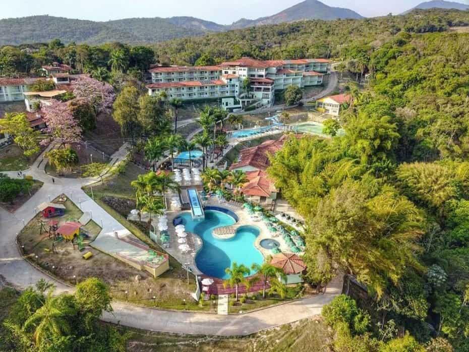 Um dos melhores resorts do Brasil é o Tauá Hotel Caete