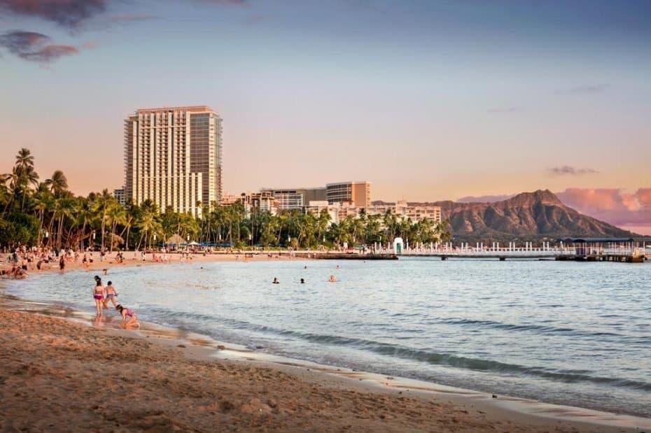 Ano Novo no Havaí