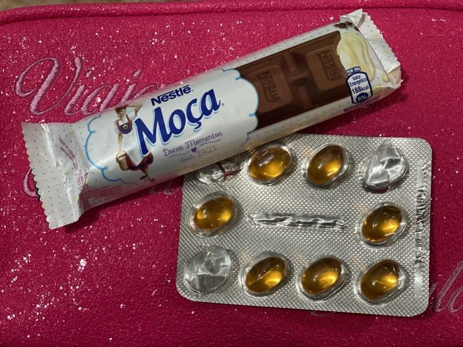 Remédios para levar na viagem