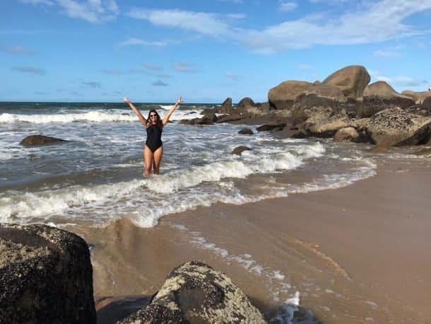 Praia da Pedra do Sal em Parnaíba Piauí.