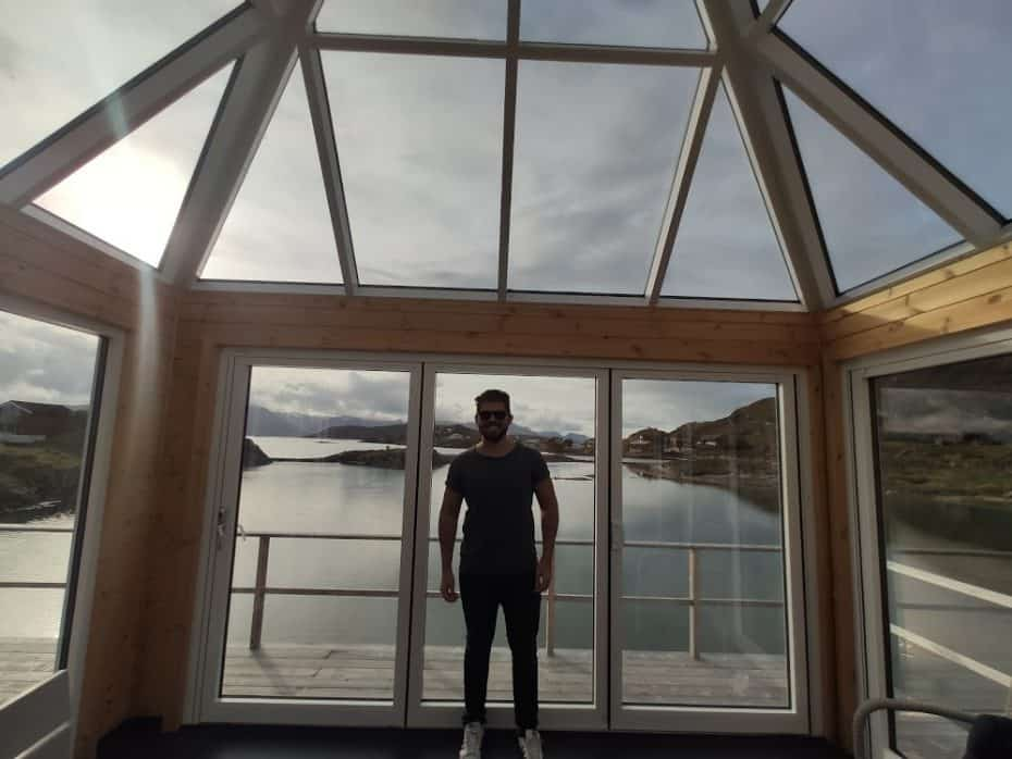 Iglu cabana Tromso.