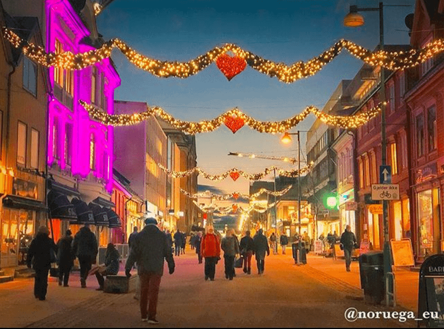 Natal em Tromso Noruega