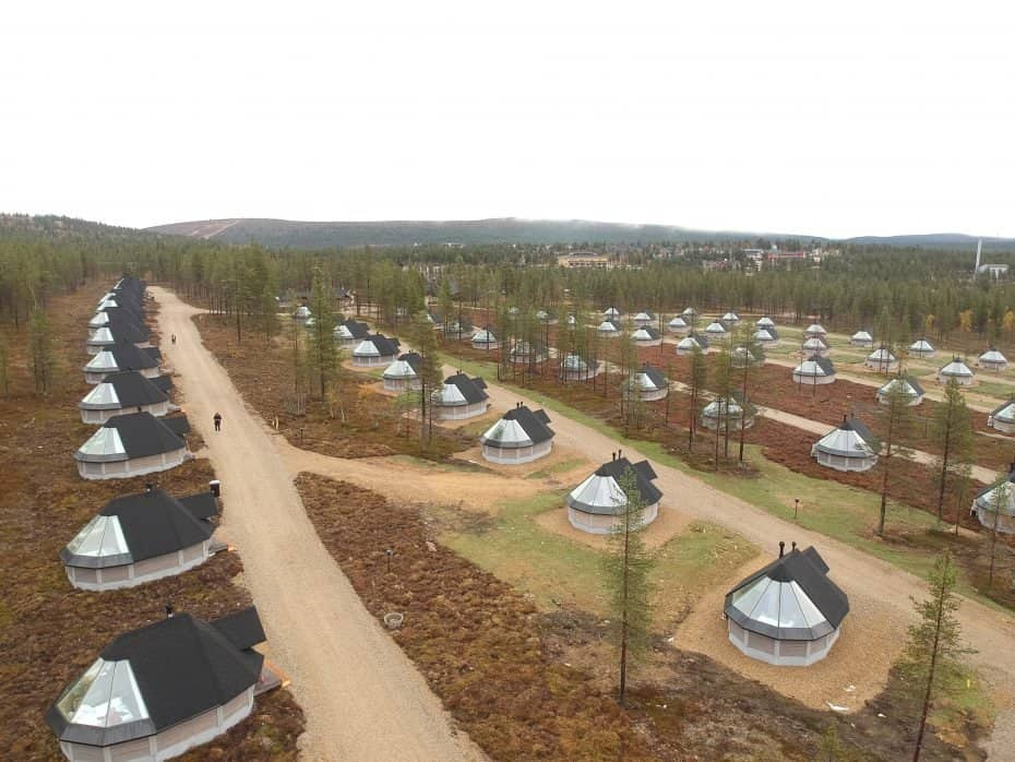 iglu na Finlândia