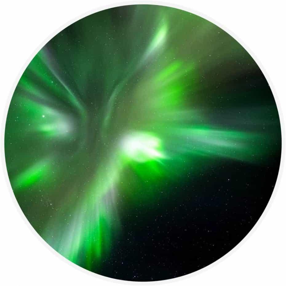 luzes do norte em Tromso