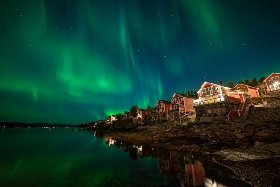 Hotel Aurora Boreal em Tromso Noruega