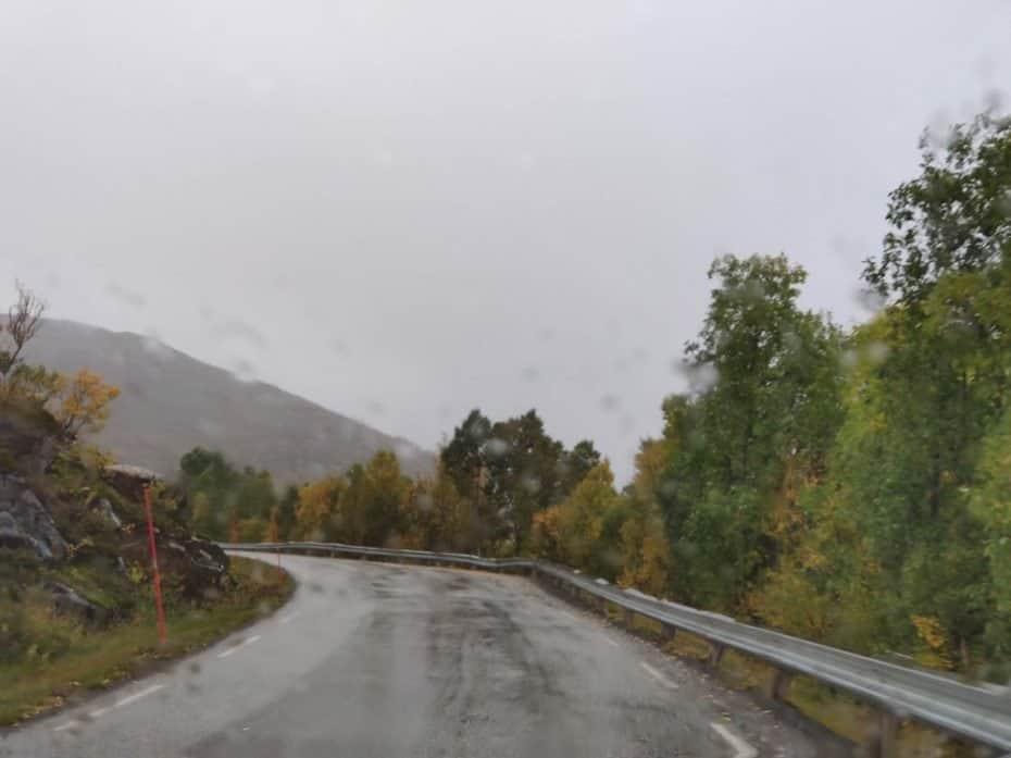 Chuva em Tromso