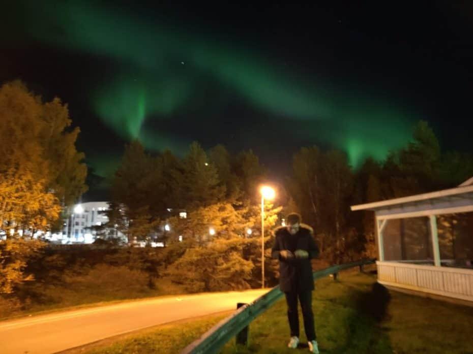 Aplicativos para ver aurora boreal
