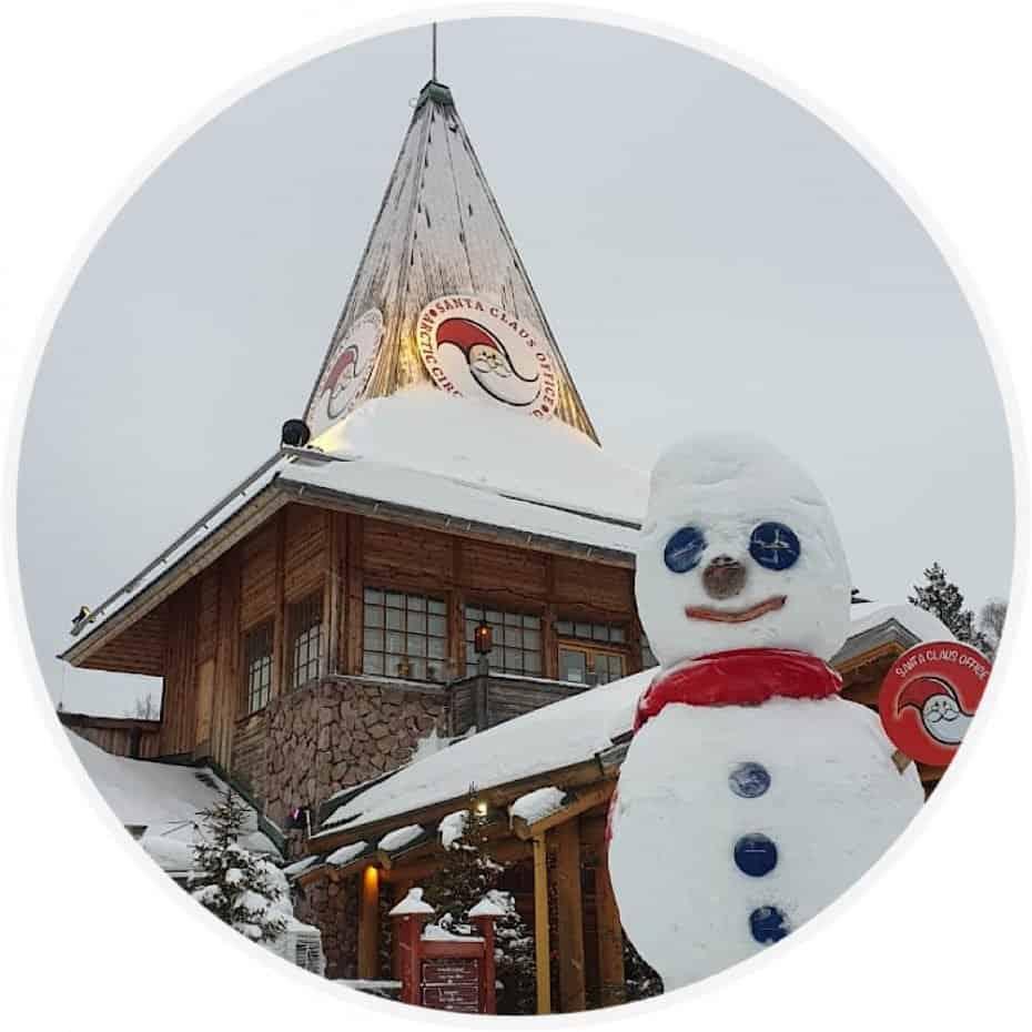 Casa do Papai Noel na Finlândia na Finlândia