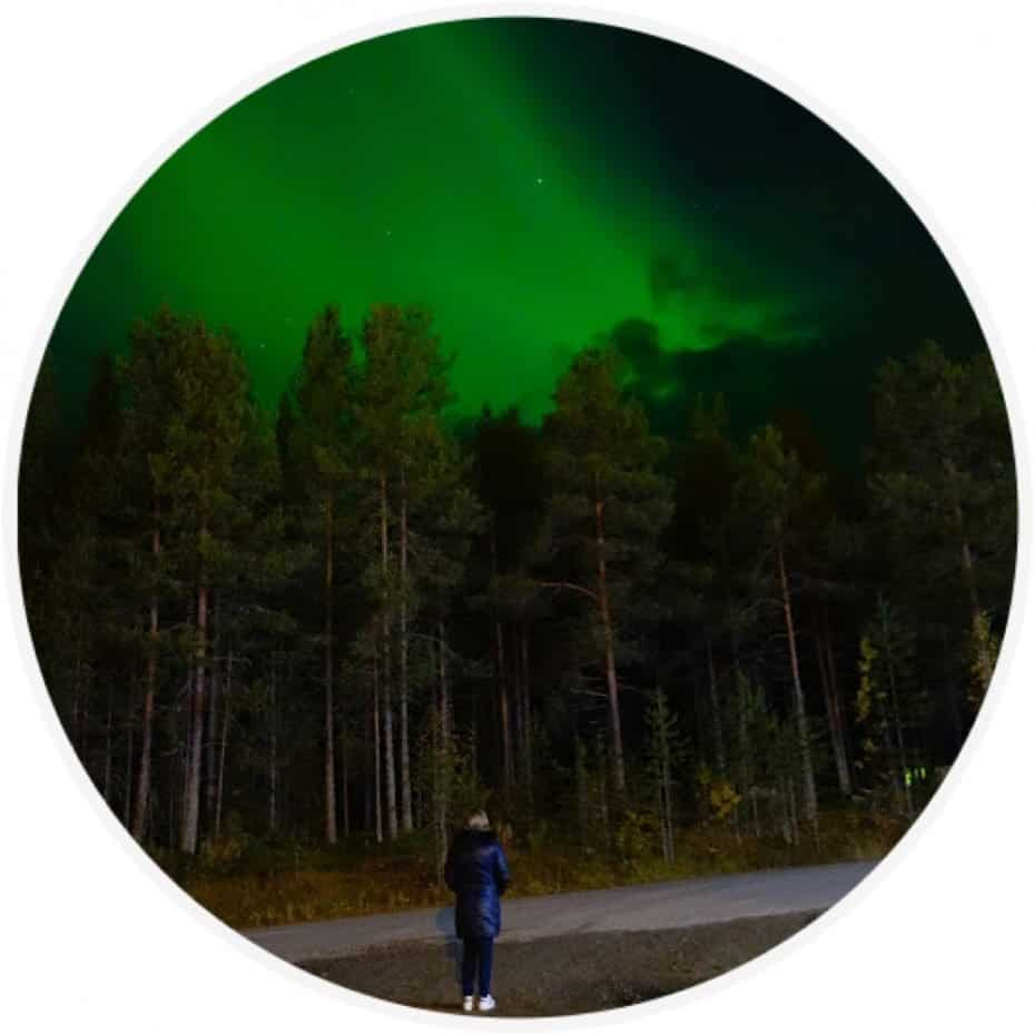 Procurar a aurora boreal por conta - Quanto custa viajar para Finlândia