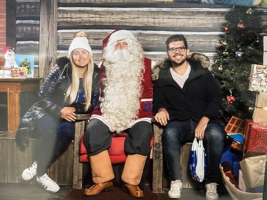 melhor epoca para visitar a vila do Papai Noel na Finlândia