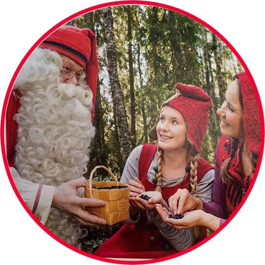 Papai Noel na Finlândia