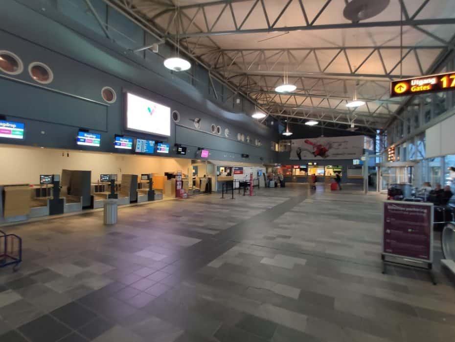 aeroporto de Tromso Noruega