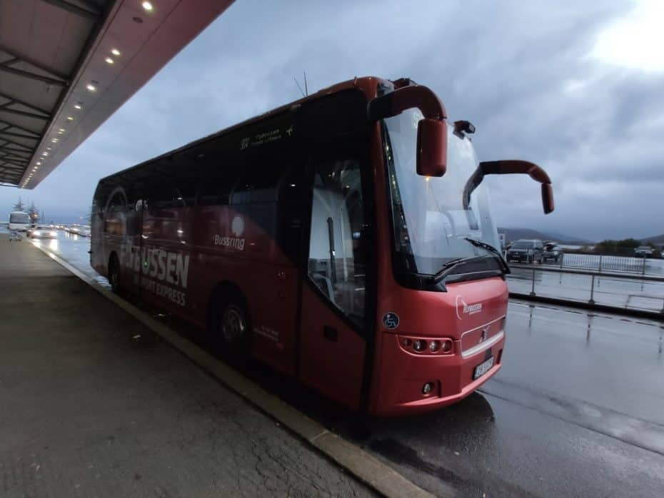 Dica de ônibus no aeroporto de Tromso