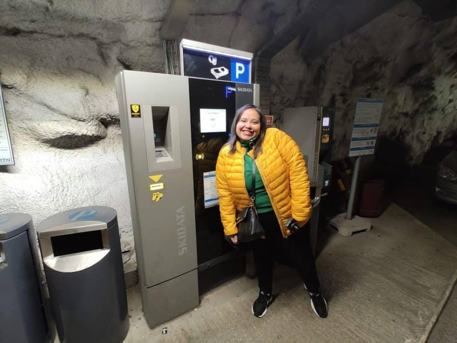 Como estacionar em Tromso Noruega. Foto: Paula Rocha