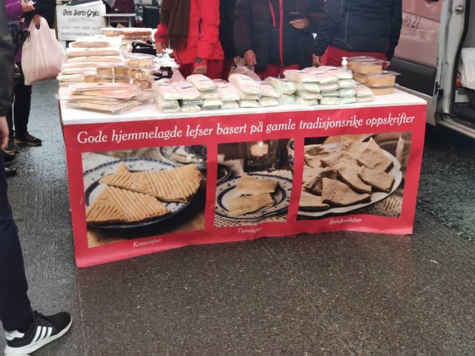 Festival gastronomico em Tromso