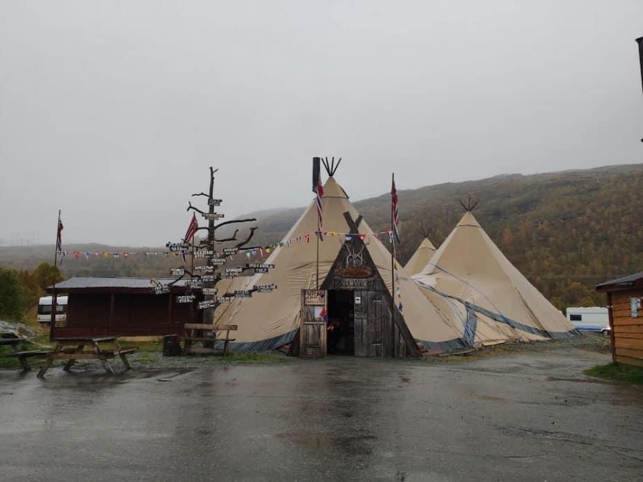 povo Sami em Tromso