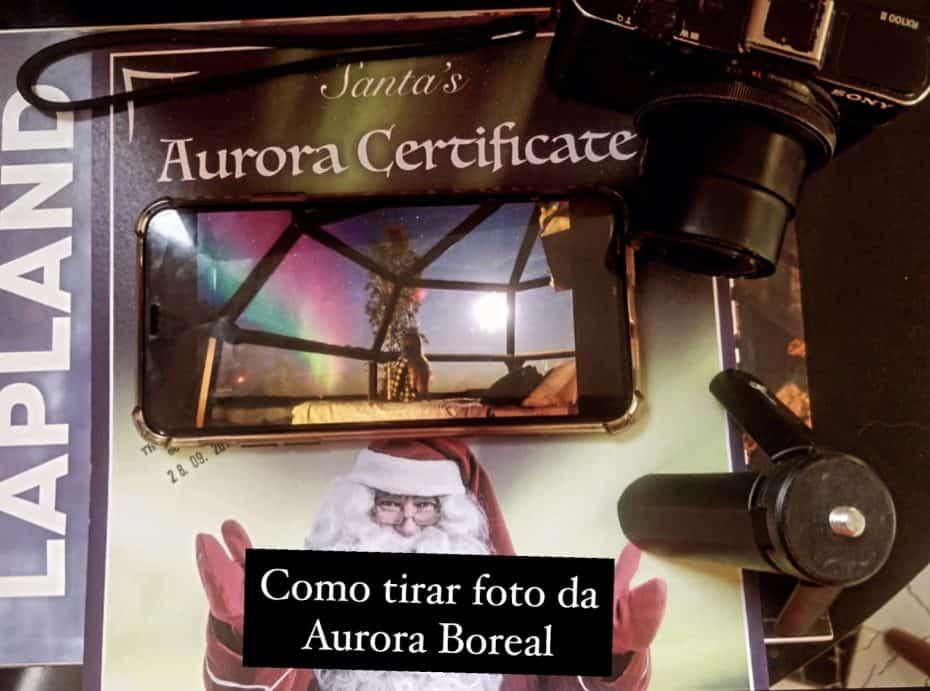 manual de fotos da aurora boreal