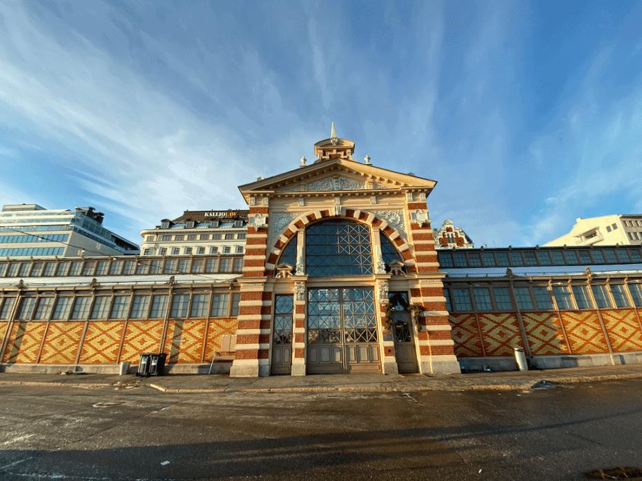 Mercado em Helsinki