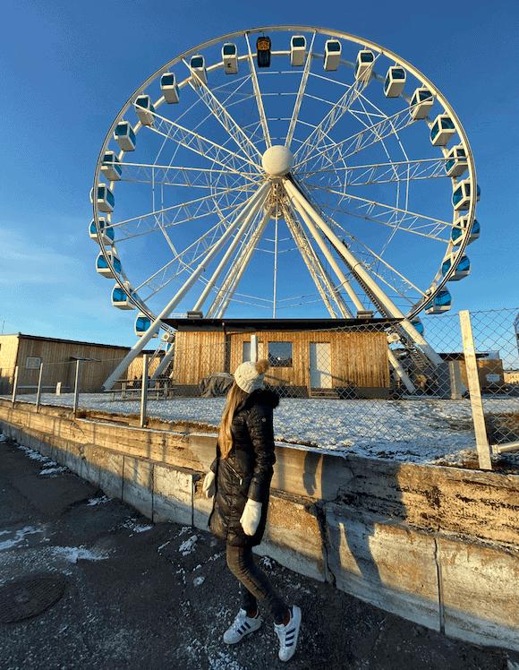 Roda gigante com sauna em Helsinki Finlândia