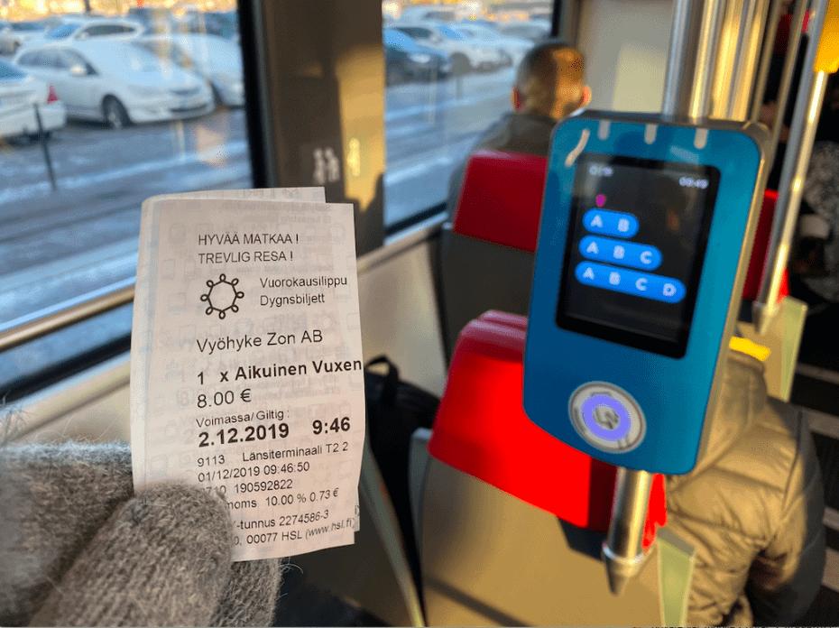 O que fazer em Helsinki de transporte público