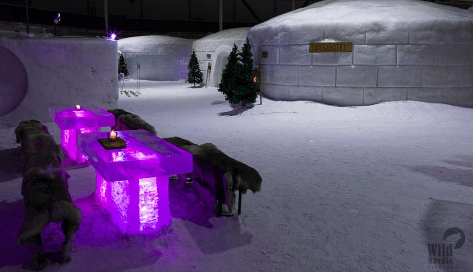 Parque de neve e gelo em Helsinki