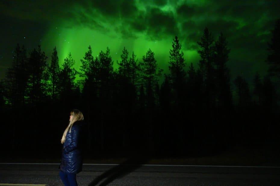 Como tirar fotos da Aurora boreal na Finlândia. Foto: Paula Rocha
